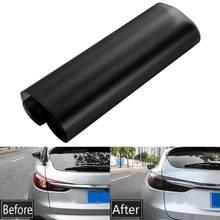 30x100cm luz do carro farol matiz vinil filme preto fosco folha de adesivo automóvel nevoeiro luz traseira lâmpada fumaça mate sol proteger filme