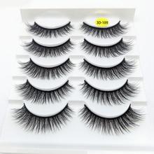 Eye-Extension Makeup-Tools False-Eyelashes Natural-Wispies Handmade Beauty Mink Cruelty-Free