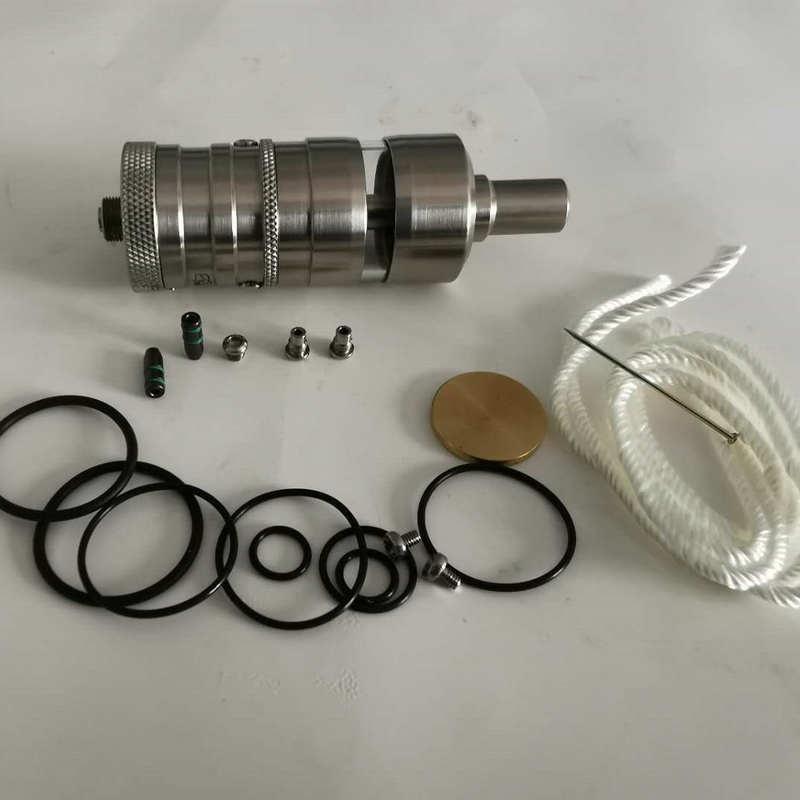 YFTK Flash E Vapor V4.5S+ RTA 23mm 316SS RTA Rebuildable Tank Atomizer For Electronic Cigarette Vaporizer Vape Mod