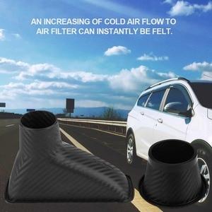 Image 3 - 1 סט רכב קר צריכת אוויר מערכת ערכת מסנן אוויר אוטומטי קדמי פגוש טורבו צריכת אוויר צינור טורבינת מפרצון צינור אוויר ערכת משפך