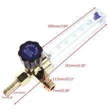 1/4PT hilo 7mm Barb argón Ar CO2 medidor de flujo de Gas Ar regulador de soldadura 0,35 MPA WXTC