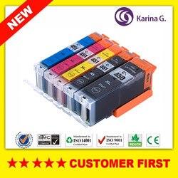 Kompatybilny z Canon PGI-450 CLI-451 / PGI 450 CLI 451 / PGI450 dla CANON PIXMA MG5440/MG5540/MG5640/MG6340/MG6440/MG6640 itp.