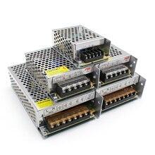 תאורת רובוטריקים, DC 5V 12V 24V 36 V אספקת חשמל מתאם, 5 12 24 36 V 1A 2A 3A 5A 6A 8A 10A 15A 20A LED נהג LED רצועת מעבדה