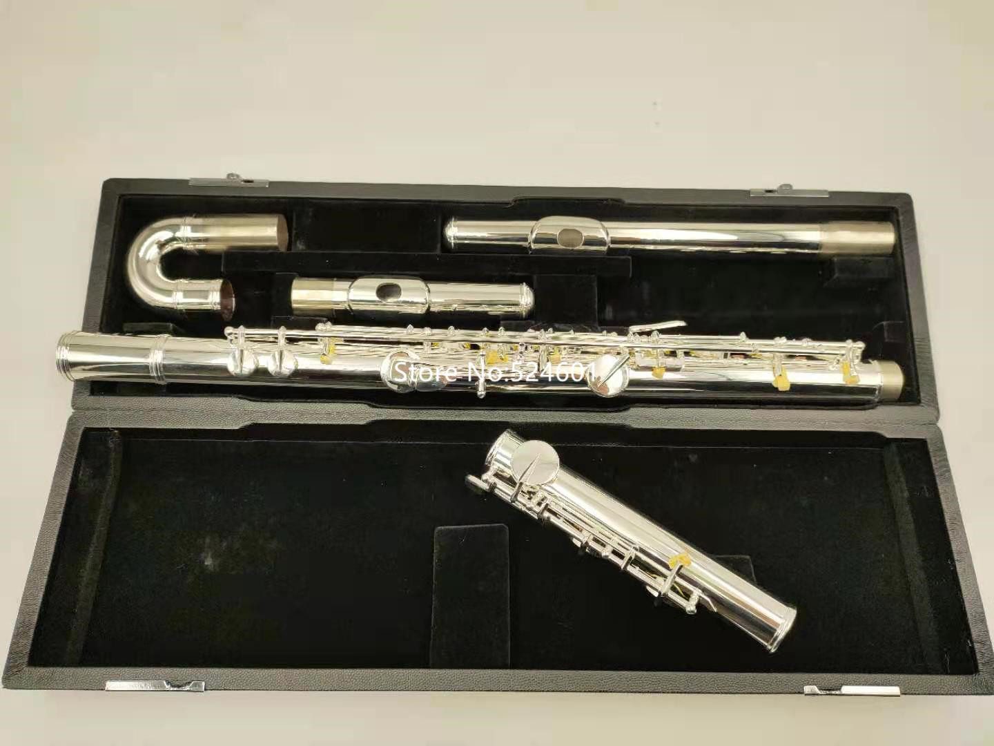 Brand New Muramatsu Alto Flute G Tune 16 Closed Hole Keys Sliver Plated Musical Instrument with case free shipping