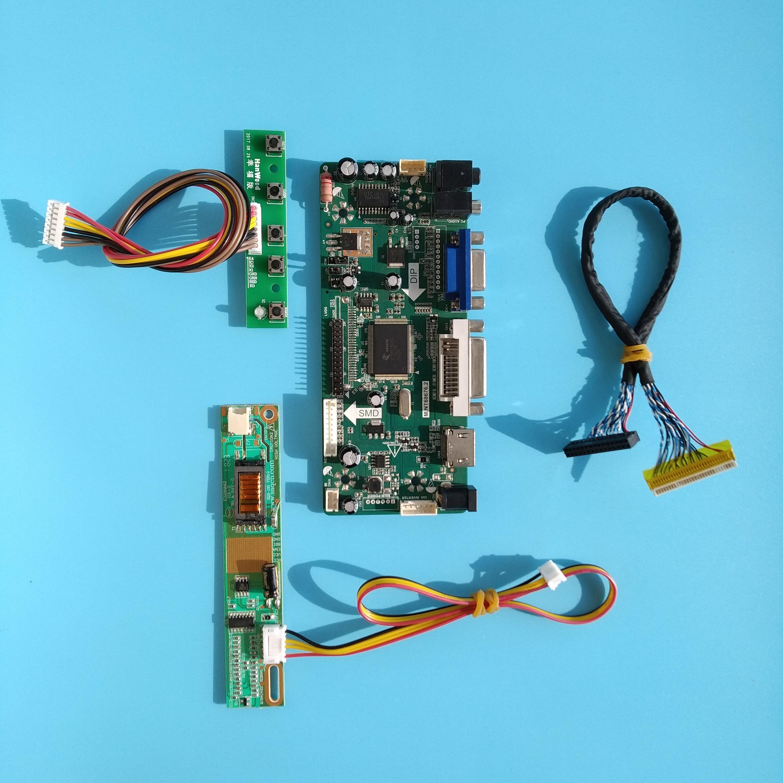 "M.NT68676 For LTN160AT01 Panel Screen 1366X768 16.0"" HDMI DVI VGA LCD DIY Controller Board Kit Display"