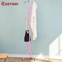 COSTWAY напольная вешалка для одежды, вешалка для одежды, сушилка для одежды