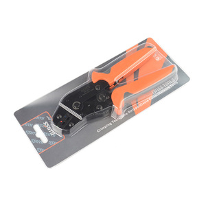 Image 5 - IWISS SN 02C pre insulated terminal crimping pliers U type Y terminal crimping pliers 0.25 2.5mm² clamp tools
