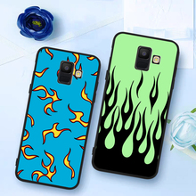 2020 hot green flame Black Red phone case for Samsung Galaxy S6 S7 Edge S8 S9 S10 Lite S20 Ultra Note 8 9 10 Plus M40 etui coque lavaza counter strike cs and pubg silicone case for samsung s6 edge s7 s8 plus s9 s10 s10e note 8 9 10 m10 m20 m30 m40