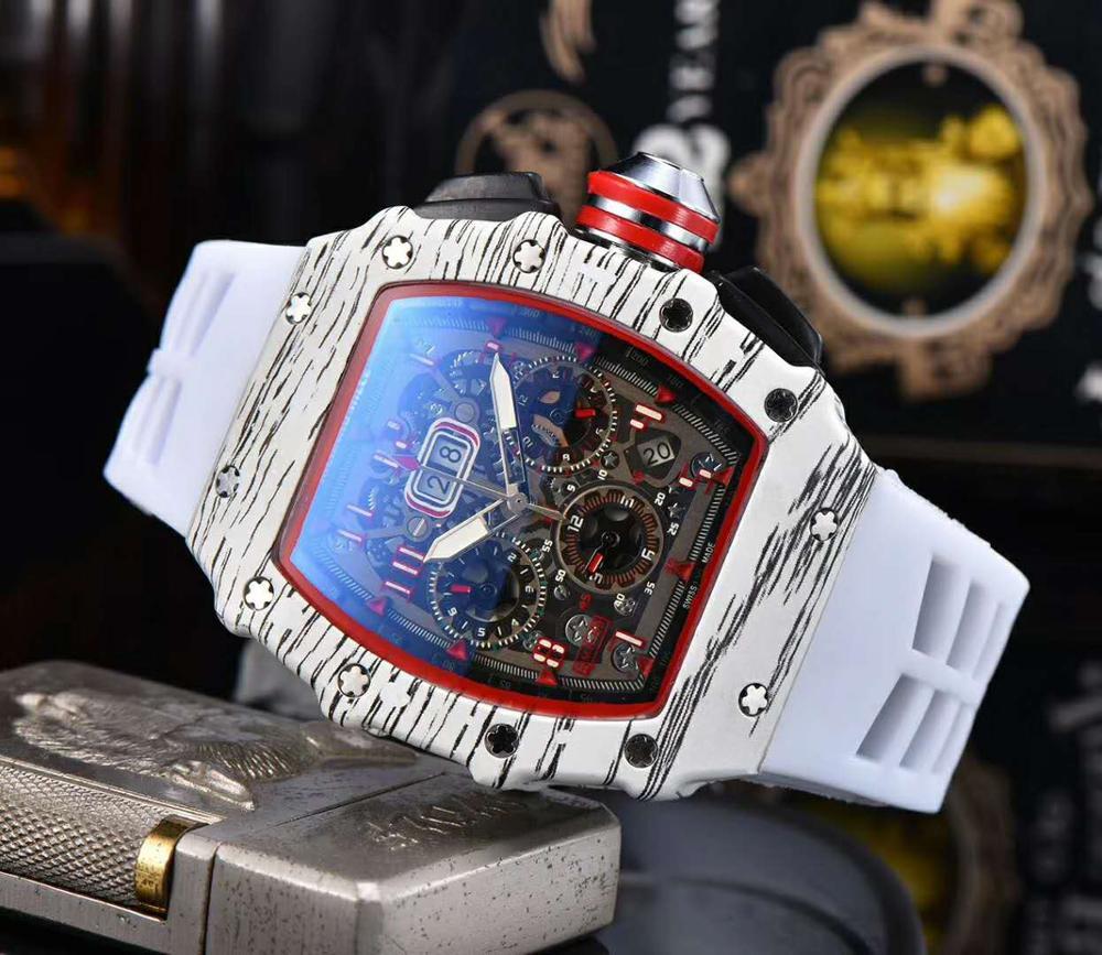 7color  Man Sport Digite S Watch Rlo Dz Auto Date Week Display Luminous Diver Watches Stainless Steel Wrist Man  Male Clock