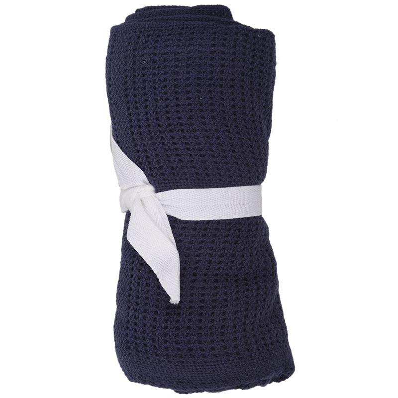 Fashion Cotton Baby Infant Cellular Soft Blanket Pram Bed Basket Crib Blanket