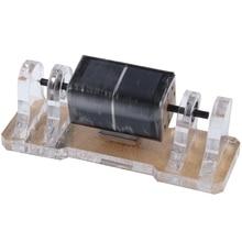 Квадратный Солнечный Магнитный левитационный анти-встряхивание двойной стенд двигатель мендочино горизонтальная левитационная модель