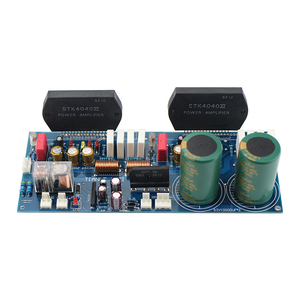Image 5 - GHXAMP STK4046V Thick Film Amplifier Audio Board 120W*2 High Power 2.0 Audio Amplifiers PC1237 Speaker By Sanyo High Quality
