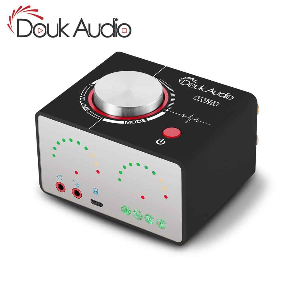 Douk Audio TONE HiFi Bluetooth 5.0 TPA3116 Digital Power Amplifier USB Mini Stereo Headphone Amp For Home Audio