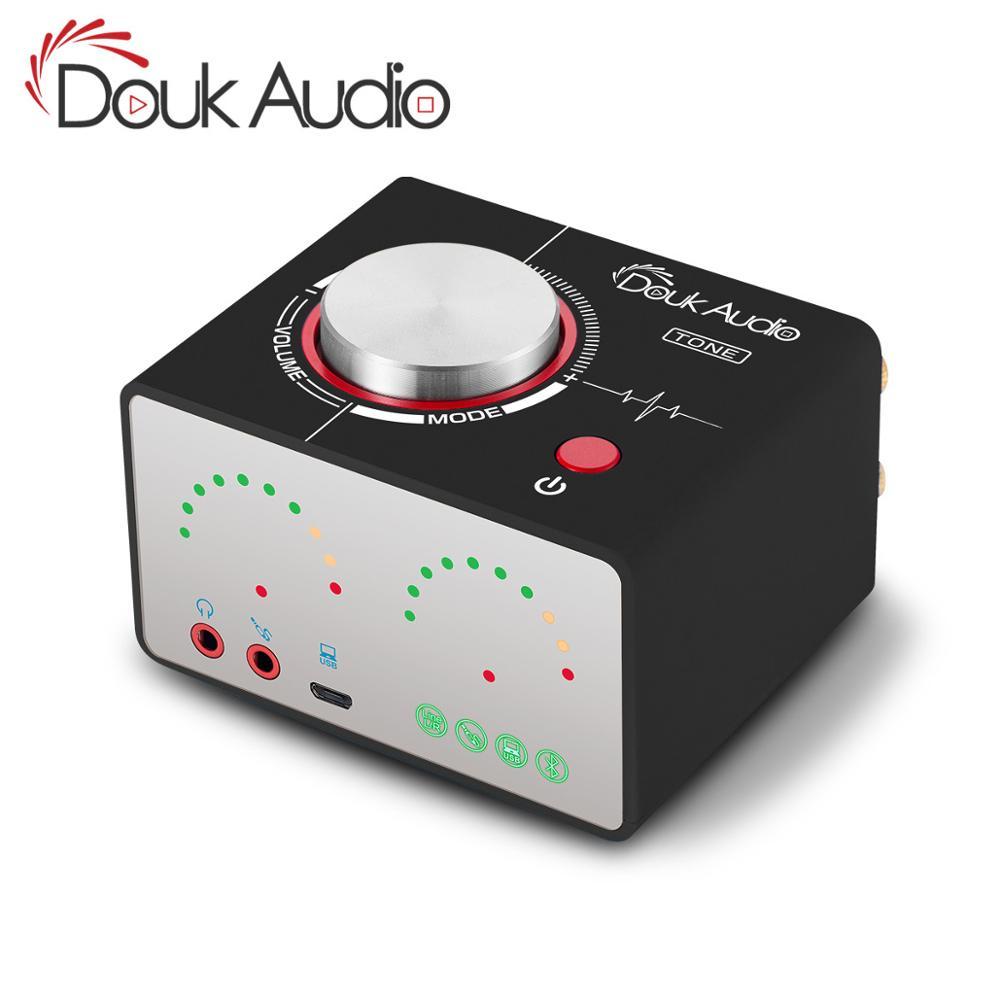 Douk Audio TONE HiFi Bluetooth 5.0 TPA3116 Digital Power Amplifier USB Mini Stereo Headphone Amp For Home Audio