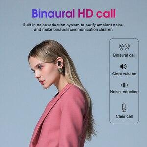 Image 5 - 오리지널 레노버 HT18 TWS 무선 헤드폰 블루투스 5.0 이어폰 1000mAh 배터리 LED 디스플레이 이어 버드 HiFi 스테레오 베이스 헤드셋