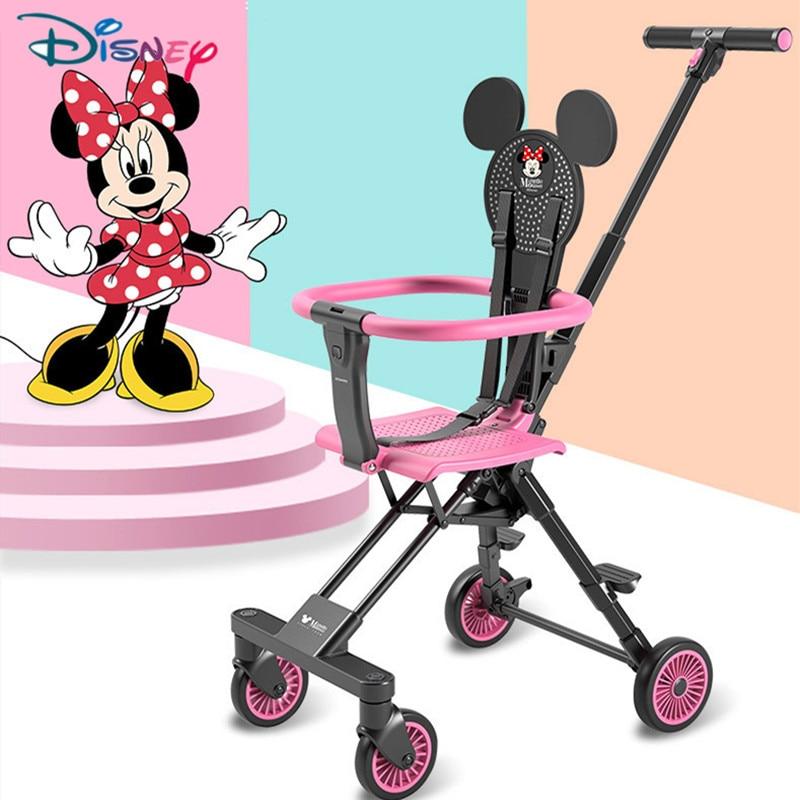 Original Disney Lightweight 3.7kg Stroller Folding Stroller Ultra-light Portable Traveling Baby Pushchair
