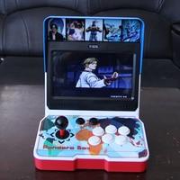 wholesale 10 inch LCD Screen mini bartop arcade 3D games machines pandora9d box kit game console cabinet 2500 in 1