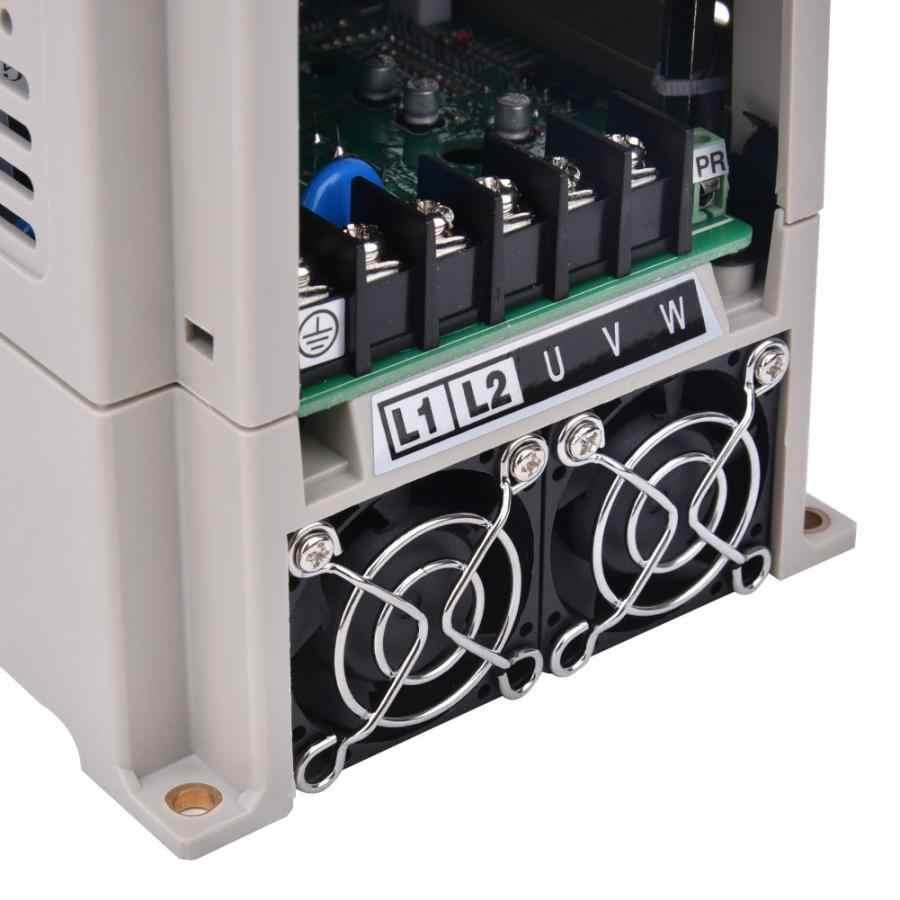 العاكس للطاقة الشمسية 220 فولت VFD تردد العاكس مرحلة واحدة المدخلات 3-Phase الناتج محول تردد تيار مستمر محول تيار مستمر