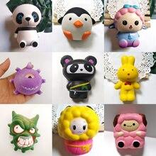 Jouet anti-Stress parfumé pour enfant, mignon pingouin à pression, Squishy, Squishy, Squishy, décompression, animaux