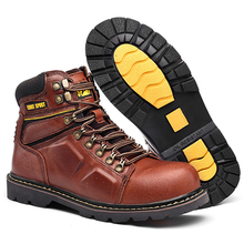 Hiking Shoes Boo Shock-Absorbing High-Top Outdoor Waterproof Men's Wear-Resistant Anti-Skid