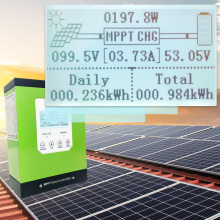 купить mppt solar charge controller 20a 30a 40a 50a 60A solar panel regulator 12V 24V 48V LCD auto lithium-ion battery lead-acid cell недорого