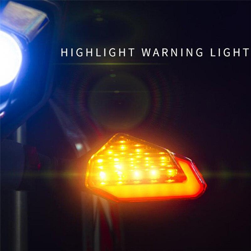 Универсальный неправильной формы мотоцикла светодиодный индикатор, предупреждающий дневного света ночного вождения мотоцикла светофора