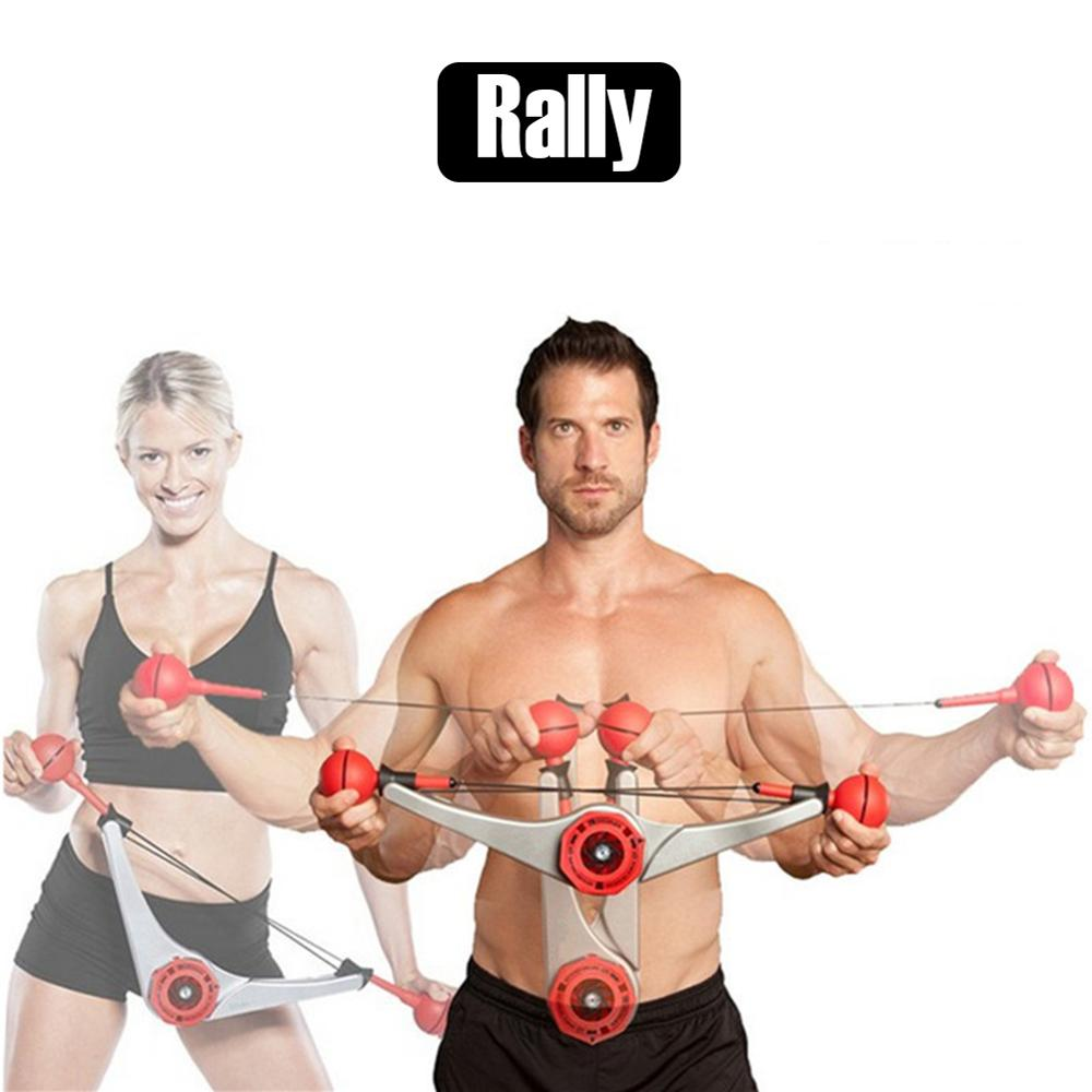 Indoor Fitness Equipment Arms Strengthener Resistance Puller Body Workout Equipment For Triceps Biceps Abs