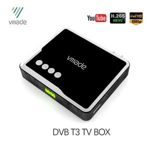 Image 2 - Receptor de tv hd h.265 dvb t 1080/4 suporta áudio do youtube inteiramente p digital terrestre decodificador de receptor MPEG 2 caixa de tv