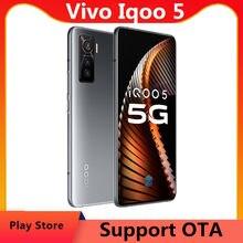 Dhl entrega rápida vivo iqoo 5 5g telefone celular 6.56