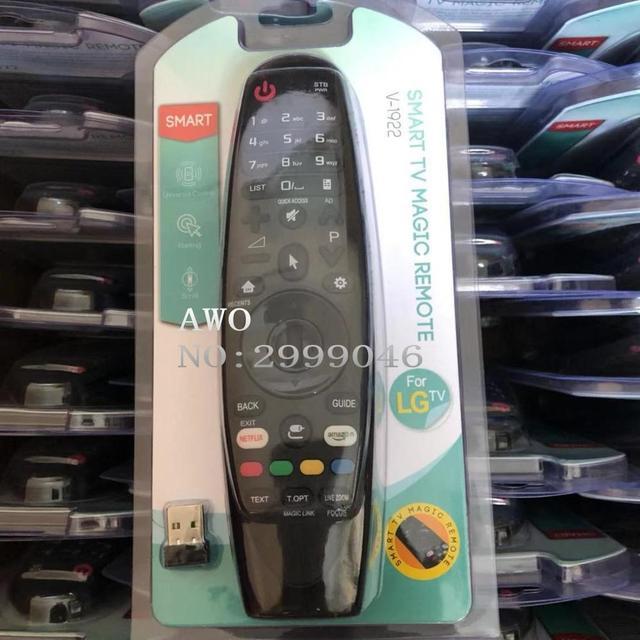 עבור LG טלוויזיה AN MR19BA AKB75375501 55UK6200 UK6300 UK6500 UK6570 UK7700 SK8000 SK8070 SK9000 SK9500 אוניברסלי חכם שלט רחוק