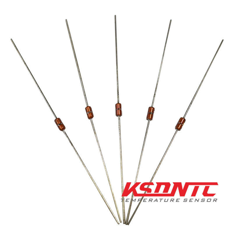100Pcs Thermistor Temperature Sensor Ntc MF58 3950 B 10K Ohm ki