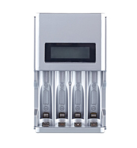 Image 2 - شاشة الكريستال السائل مع 4 فتحات شاحن بطارية ذكي الذكية لبطاريات AA / AAA NiCd NiMh قابلة للشحن