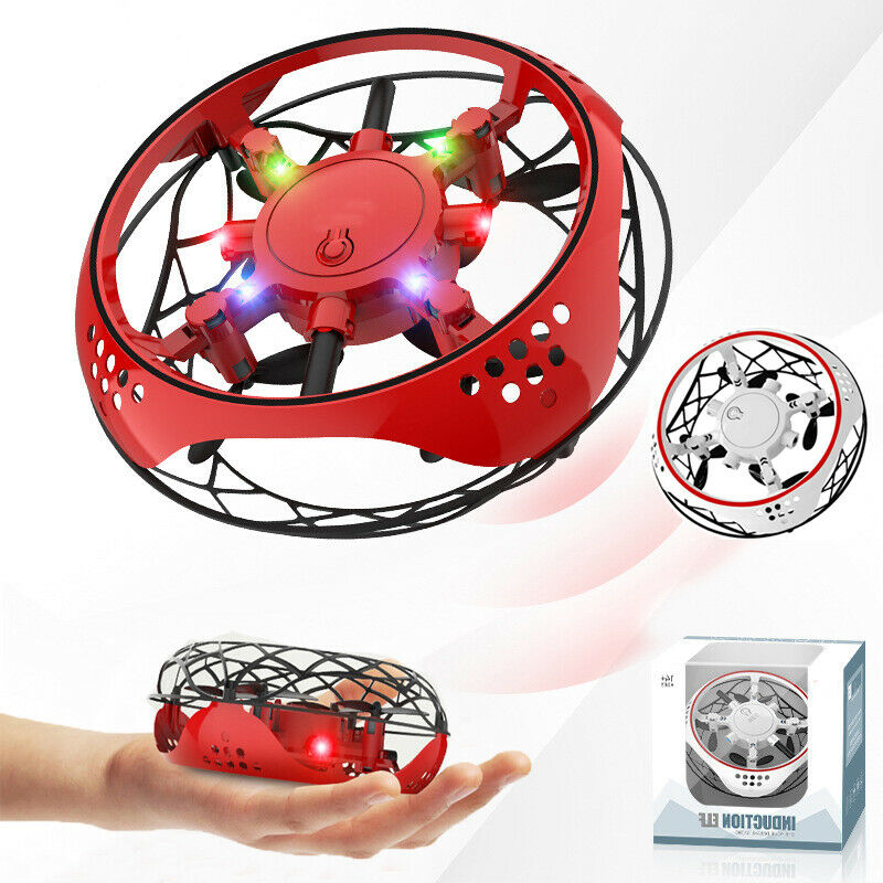 Hot Flying Helicopter Mini Drone Mini Drones 360° Rotating Smart Mini UFO Drone for Kids Flying Toys Gift Present for Xmas Gift image