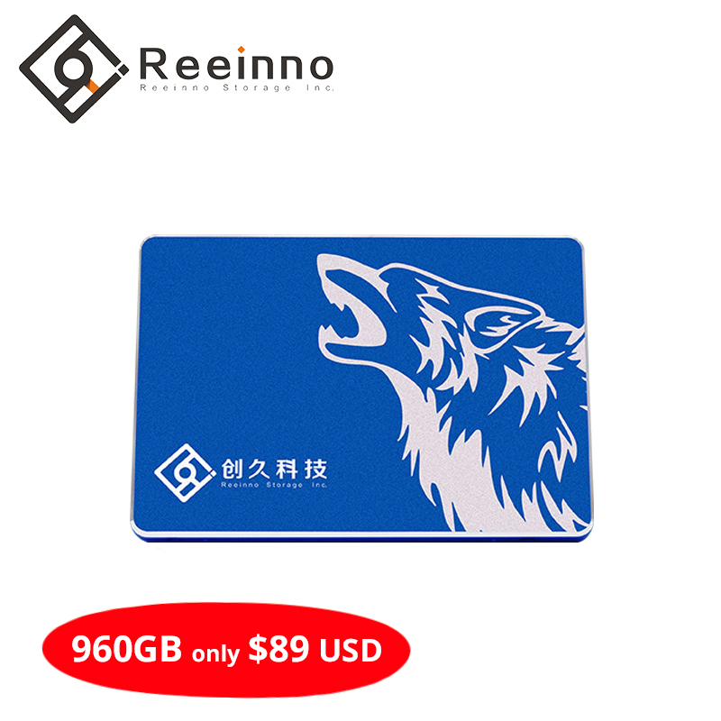 """Reeinno SSD 1TB/512GB/256GB/128GB Hard Drive Disk Disc Solid State Disks 2.5 """" Internal SSD factory directly for laptop desktop(China)"""