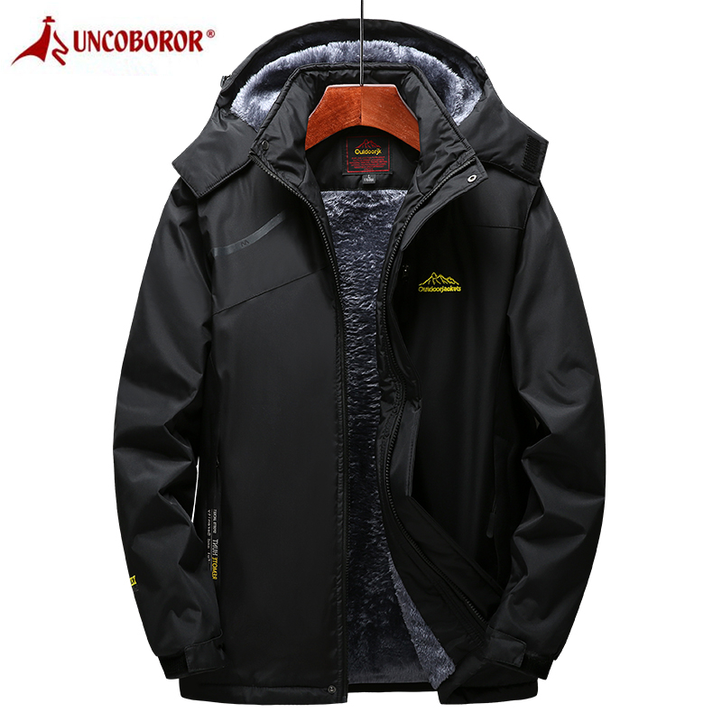 NOBRAND Jacket Men Thick Warm Military Bomber Tactical Jackets Mens Outwear Fleece Breathable Hooded Windbreaker Coats 4XL Clothes