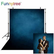 Funnytree photobooth backdrop dark blue old master classic vintage backdrops photography studio photocall photophone party gbtiger blue others old
