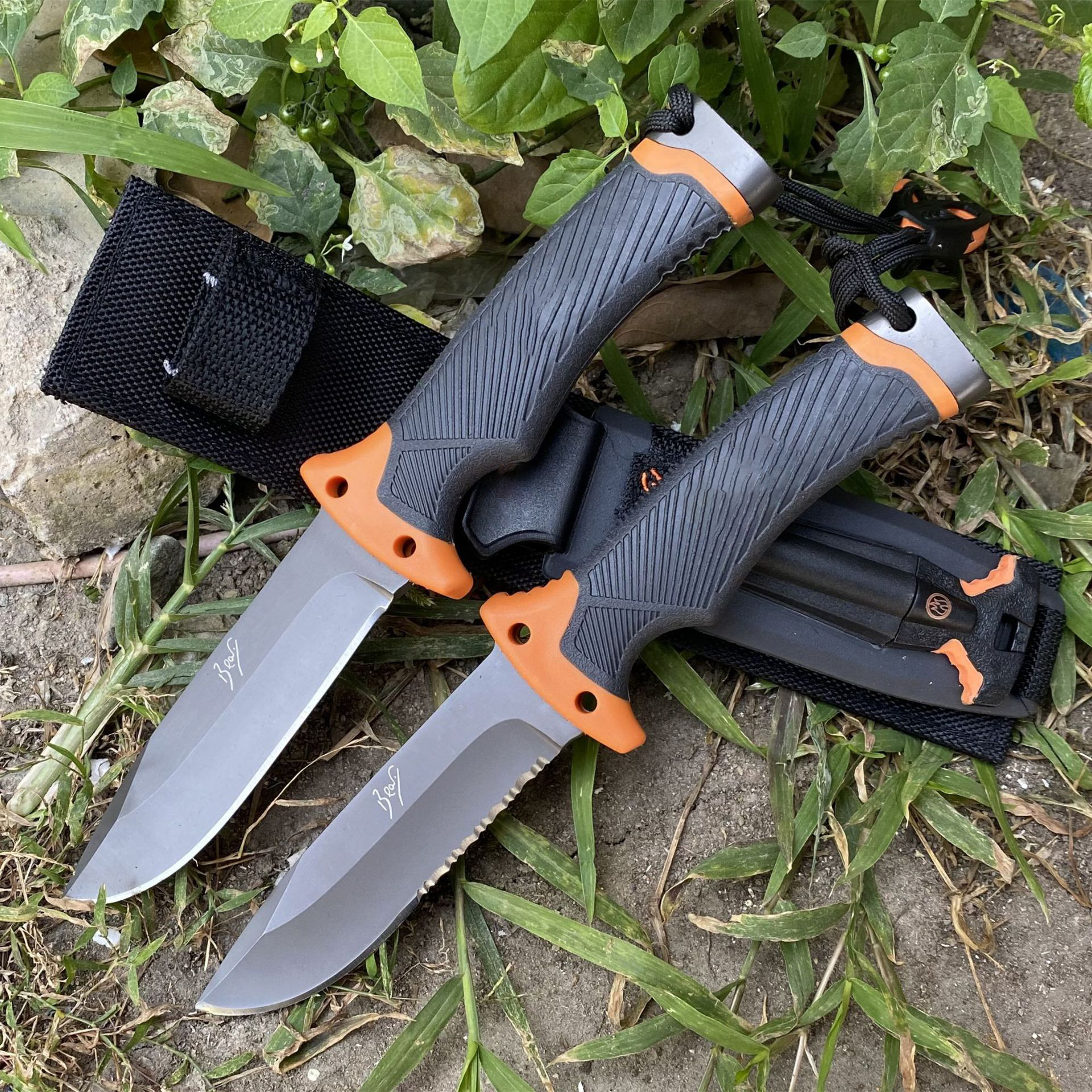 Firebird Ganzo 5cr15mov blade ABS Handle Fixed blade knife Survival knife Camping tool Hunting Knife tactical outdoor tool