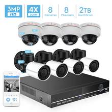 BESDER H.265 PTZ POE 8CH CCTV Systeem Kit 4MP 4X Optische Zoom Outdoor/Indoor Waterdichte 2.8-12mm beveiliging IP Camera PoE NVR Kit(China)
