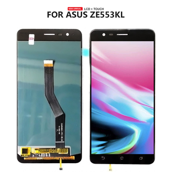 For ASUS Zenfone 3 Zoom Z01HDA ZE553KL LCD Display Touch Screen Digitizer Glass Assembly For ZE553KL LCD + Tools