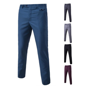 Men's Fashion Slim Fit Wedding Suit Pants Men Skinny Formal Pants Office Business Blazer Pant And Male Work Trousers 5XL 6XL