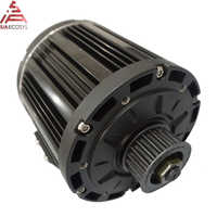QS 138 3kW 72V100KPH old appearance mid drive motor with belt design