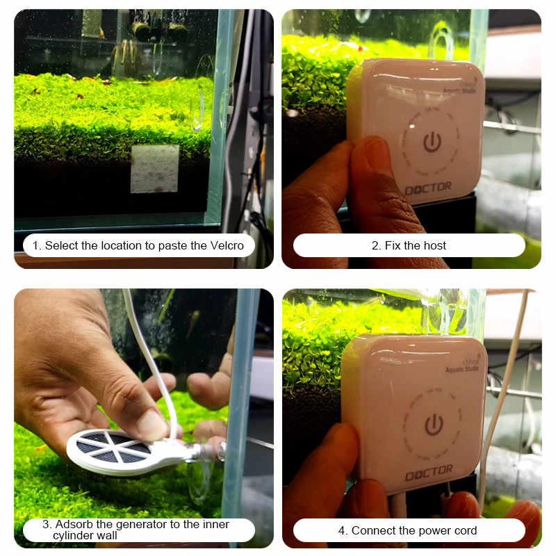 Generacja Chihiro Doctor 5th algi usuń Twinstar styl elektroniczny hamuje zielone akwarium ryby krewetki rośliny wodne czysty zbiornik