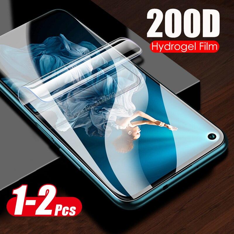 Мягкая Гидрогелевая пленка 200D для honor 20 pro, Защита экрана для huawei honor 20, 30 pro plus, 30lite, honor 20 pro, не стекло, 1-2 шт.