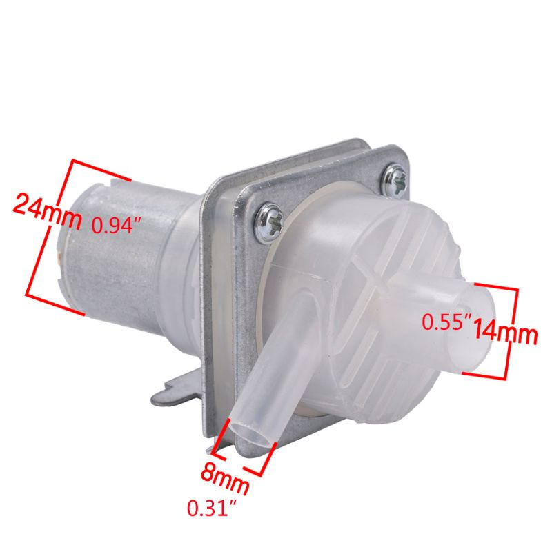 DC 8-12V Micro Water Suction Pump Dispenser Electric Open Bottle Kettle Pumping Motor Pumps Left Export