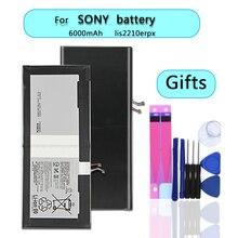 Аккумулятор для мобильного телефона LIS2210ERPX LIS2210ERPC для SONY Xperia Z4 Tablet Ultra SGP771 SGP712 подлинный литий-ионный Аккумулятор 6000 мАч