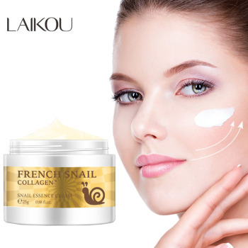 LAIKOU Snail Face Cream Hyaluronic Acid Anti-Wrinkle Anti-aging Facial Day Cream Collagen Moisturizer Nourishing Skin Serum Care anti wrinkle anti aging snail moist nourishing facial cream cream imported raw materials skin care wrinkle firming snail care