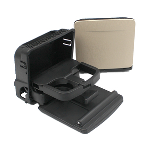 Image 3 - 1K0 862 532 New Black Beige Car Central Console Armrest Rear Cup Drink Holder For VW Jetta Golf GTI MK5 MK6 RABBIT Eos 1K0862532