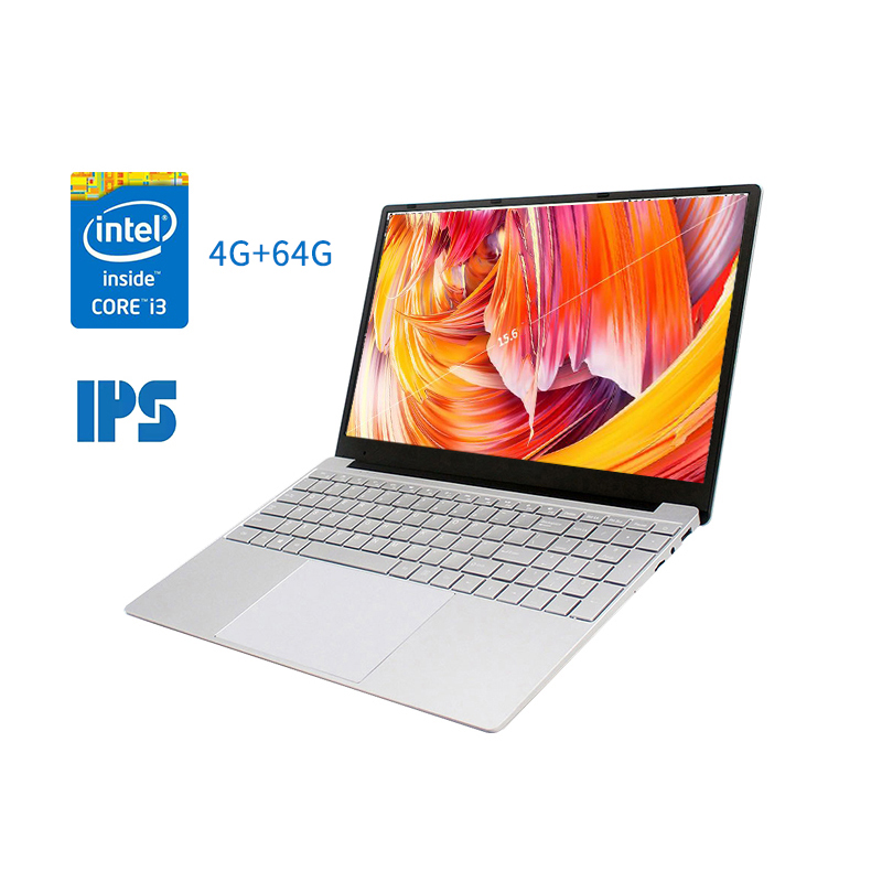 15.6 Inch 8G RAM SSD Laptop For Intel Core I3 5005U Computer 1920 X 1080P FHD IPS Screen Gaming Notebook US Plug And EU Plug