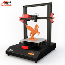 Large 3D Printer ET4 Printer Anet Metal Frame Auto Leveling & Loading Filament Detection Offline & Resume Printing Micro SD Card high qualtiy wanhao high precision d4s industrial 3d digital laser metal printer for sale with free tool bag sd card filament