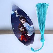 Plastic Bookmark Transparent Anime Japanese Gift Academia Waterproof PVC Leaf-Shape Beautiful